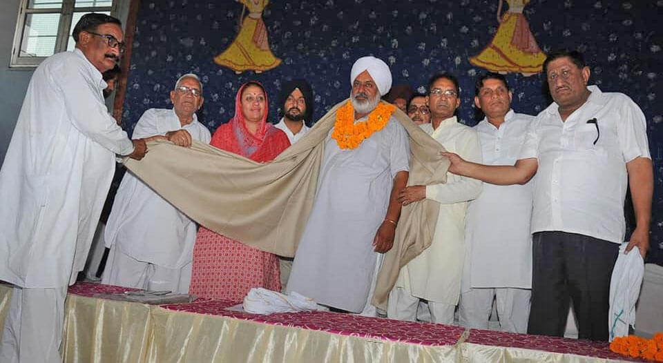 Block Congress Committee Shree Jasvinder Singh Bander